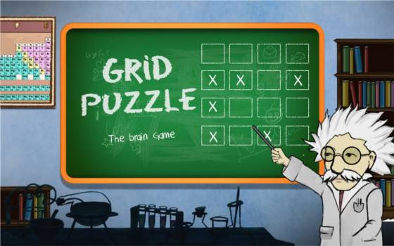 grid puzzle cover art